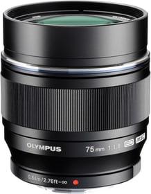 M.Zuiko ED 75mm 1:1.8 silber Objektiv Olympus 785300125771 Bild Nr. 1