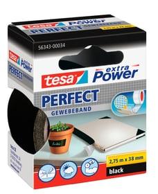 extra Power® Perfect 2.75m:19mm noir Rubans adhésifs Tesa 663081400000 Photo no. 1