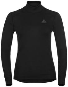 Warm Eco Langarmshirt Odlo 477094400220 Grösse XS Farbe schwarz Bild-Nr. 1