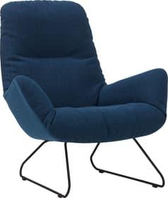 ANDRES Poltrona 402498107040 Dimensioni L: 83.0 cm x P: 94.0 cm x A: 97.0 cm Colore Blu N. figura 1