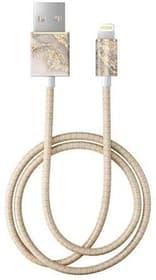 "Câble 1.0m, Lightning->USB  ""Sparkle Greige Marble"" Câble iDeal of Sweden 785300148097 Photo no. 1"