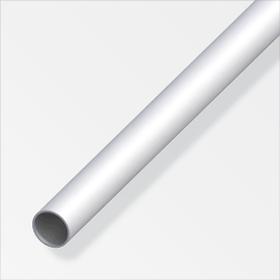 Rundrohr 1.5 x 25 mm silberfarben 2 m alfer 605108900000 Bild Nr. 1