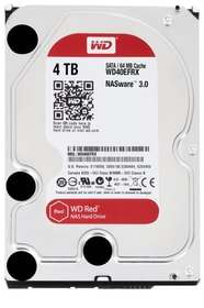 Red 4TB NAS SATA HDD NAS Western Digital 785300126117 Photo no. 1