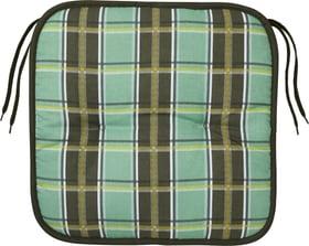 MAJA Cuscino 753336204060 Taglio L: 40.0 cm x P: 40.0 cm x A: 4.0 cm Colore Verde N. figura 1