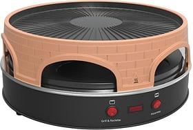 Pizza/Raclette grill 4-en-1 Pizza- und Raclettegerät Koenig 717484000000 Photo no. 1