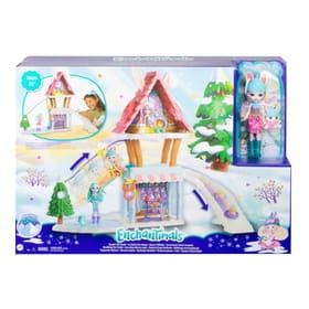 Enchantimals Hasen-Skihütte mit Bevy Bunny & Jump Spielset Mattel 747363500000 Bild Nr. 1