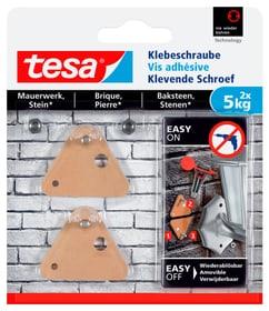 Klebeschraube dreieckig Mauerwerk, 5 kg Klebeschraube Tesa 675234900000 Bild Nr. 1