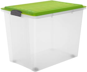 Compact 70 l mit Deckel und Rollen, A3 Aufbewahrungsbox Rotho 603716000000 Bild Nr. 1