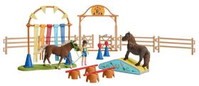 Pony Agility Training Spielset Schleich 747655600000 Bild Nr. 1