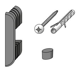 coaxis®-Wand-Befestigungs-Set alfer 605862900000 Bild Nr. 1