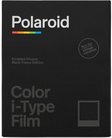 Color Film i-Type Black 8 Photos Film Polaroid 785300155038 Bild Nr. 1