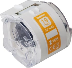 CZ-1002 Farb-Endlosetikettenrolle 12mm/5m VC-500W Etiketten Brother 785300144894 Bild Nr. 1