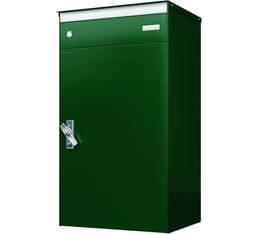 Cassetta dellaposta con casella postale  s:box 17 verde muschio/verde