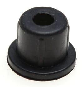 Pied en caoutchouc 7,5x 6,5mm noir Delizio 9000004123 Photo n°. 1