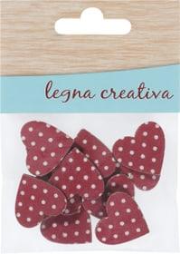 Cuori rossi Legna Creativa 665482000000 N. figura 1