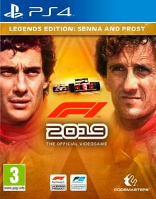 PS4 - F1 2019 Legends Edition F Box 785300144635 Bild Nr. 1