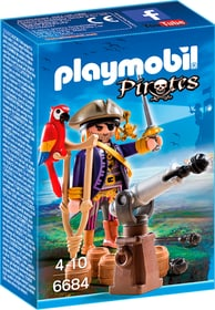 PLAYMOBIL Pirates Capitaine pirate avec canon 6684 746051100000 Photo no. 1