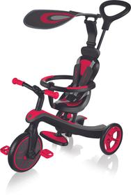 Trike Explorer 4 Dreirad Globber 464850800030 Farbe rot Rahmengrösse one size Bild-Nr. 1