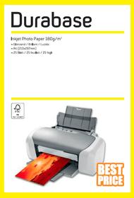 Inkjet Photo Paper A4 180g Papier photographique Durabase 796075200000 Photo no. 1