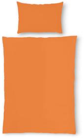 LINDRA Fourre de duvet en renforcé 451169312334 Couleur Orange Dimensions L: 160.0 cm x H: 210.0 cm Photo no. 1