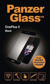 Flat OnePlus 5 schwarz Displayschutz Panzerglass 785300134530 Bild Nr. 1
