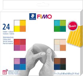 FIMO soft, 24p. colori base Fimo 666930300000 N. figura 1