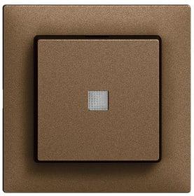 Edizio Due UP Doppelschalter Abdeckset Feller 612197100000 Bild Nr. 1