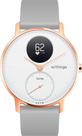 Steel HR (36 mm) Rose Gold / Grey Silicone Wristband Special Edition Smartwatch Withings 785300134670 Photo no. 1