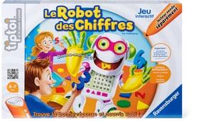 Tiptoi Le robot des chiffres (F) Jeux éducatifs Ravensburger 745235290100 Langue Français Photo no. 1
