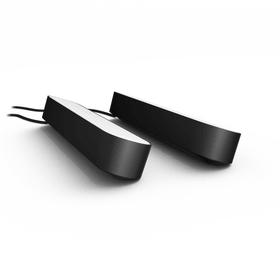 HUE PLAY DUO 2x Lampe de table Philips hue 421235900000 Dimensions L: 25.3 cm x P: 3.6 cm x H: 4.4 cm Couleur Noir Photo no. 1