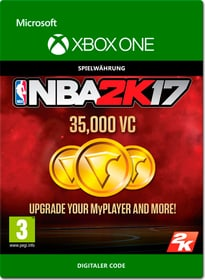 Xbox One - NBA 2K17: 35'000 VC Download (ESD) 785300137379 Bild Nr. 1