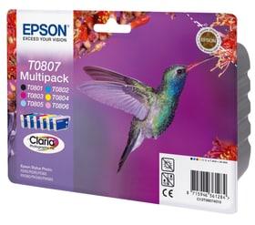 T080740 Multipack  CMYB/lC/lM Stylus Phot Tintenpatrone Epson 796014400000 Bild Nr. 1