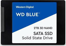 Blue 3D NAND SATA SSD 2TB, 2,5 Zoll SSD Intern Western Digital 785300155228 Bild Nr. 1