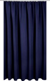 ALASKA Rideau prêt à poser occultant 430231000043 Couleur Bleu Dimensions L: 140.0 cm x H: 245.0 cm Photo no. 1