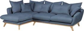 AMSEL Canapé d'angle 405735150140 Dimensions L: 275.0 cm x P: 180.0 cm x H: 67.0 cm Couleur Bleu Photo no. 1