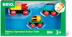 Train de marchandise avec lumière (FSC®) Circuits de voitures Brio 745355600000 Photo no. 1