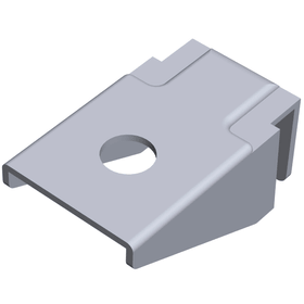 Staffa a innesto unilaterale per pavimenti in legno ELEMENTSYSTEM 603439200000 N. figura 1
