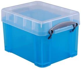 Boîtes de plastique 3L Boîte de rangement Really Useful Box 603732100000 Taille L: 16.0 x L: 18.0 x H: 24.5 Couleur Acqua Photo no. 1