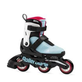 Microblade Free 3WD Girl Kids-Inline Rollerblade 466512528041 Farbe Hellblau Grösse 28-32 Bild-Nr. 1