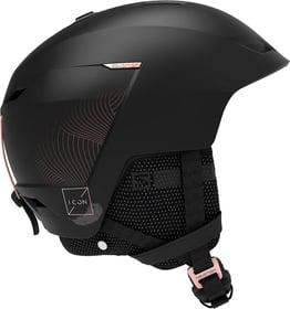 Icon LT CA Casco per sport invernali Salomon 494977152920 Taglie 53-56 Colore nero N. figura 1