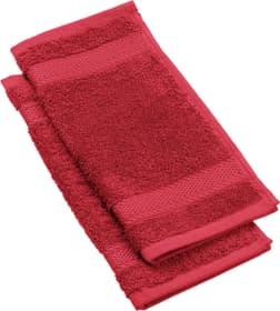 CHIC FEELING Waschlappen 2-teilig 450872920130 Farbe Rot Grösse B: 30.0 cm x H: 30.0 cm Bild Nr. 1