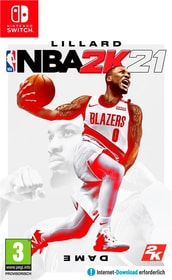 NSW - NBA 2K21 (D) Box 785300154427 Sprache Deutsch Plattform Nintendo Switch Bild Nr. 1
