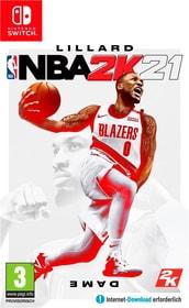 NSW - NBA 2K21 (F) Box 785300154444 Langue Français Plate-forme Nintendo Switch Photo no. 1