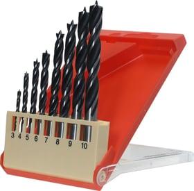 Holzspiralbohrer Set mit CV Stahl und 2-Fasen Spirale 3-8 mm 8-tlg. kwb 616335000000 Bild Nr. 1