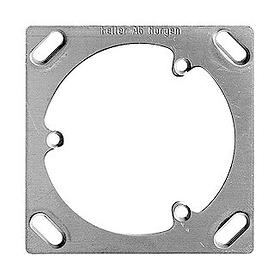 AP/UP semplice tre punti Piastra di montaggio Feller 612145300000 N. figura 1