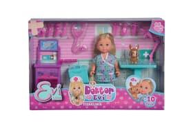 Evi Love Doktor Klinik Set di bambole Simba 740108400000 N. figura 1