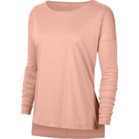 Long Sleeve Trianing Top Damen-Langarmshirt Nike 468034900356 Grösse S Farbe apricot Bild-Nr. 1