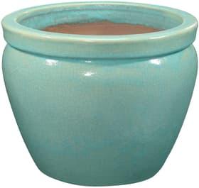 Vaso in terraglia Minh, aqua 659628500000 Colore Turchese Taglio ø: 40.0 x A: 31.0 N. figura 1