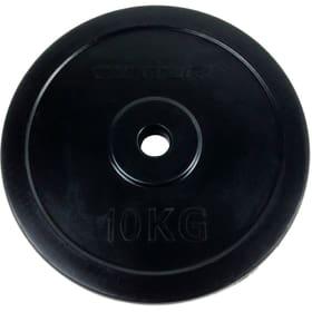 Gummierte 10 kg Gewichtsscheibe 30 mm Gewichtsscheiben Tunturi 463083300000 Bild-Nr. 1