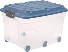 ROLLER6 Box 57l mit Deckel und Rollen Aufbewahrungsbox Rotho 604074800000 Bild Nr. 1